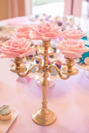 rosecandleabra